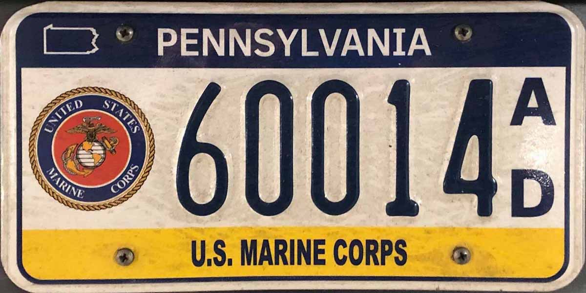 PA PLATES (Pennsylvania License Plates)