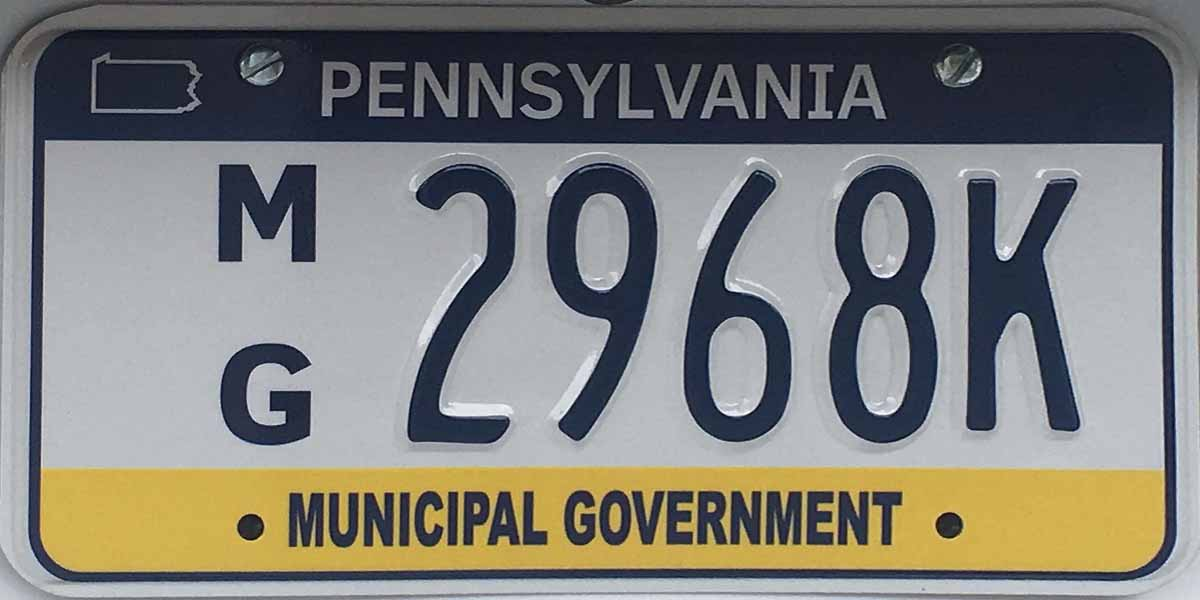 PA PLATES (Pennsylvania License Plates)