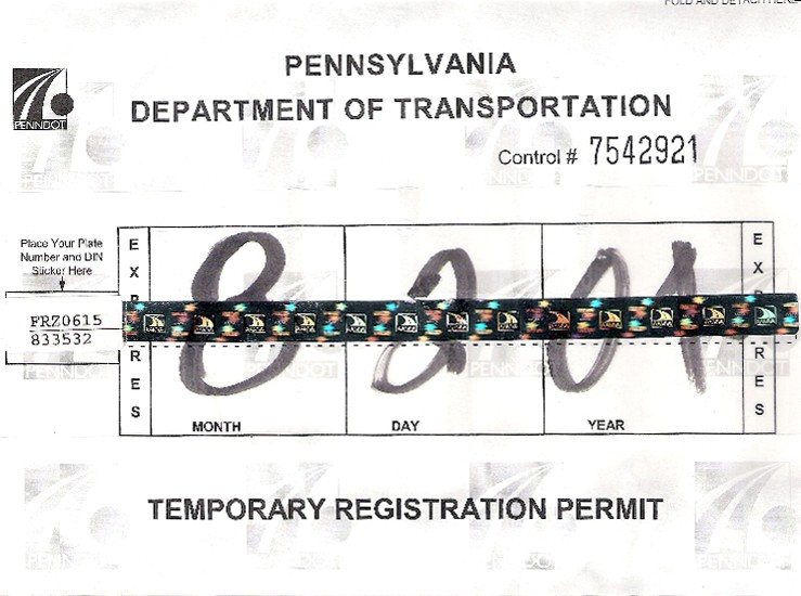 New Vehicle Registration Pa Vehicle Ideas
