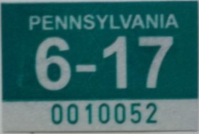Pa State Police Travel License Plate